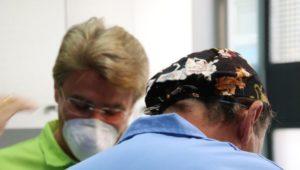 doctores en jornadas blanqueamiento dental