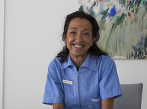Cristina higienista dental