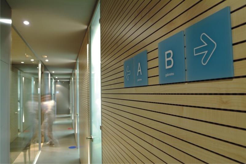 Instalación Clínica Martínez Canut salas clínicas